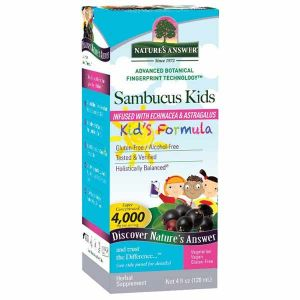Natures Answer Sambucus Kids Alcohol Free Fluid Extract 120ml