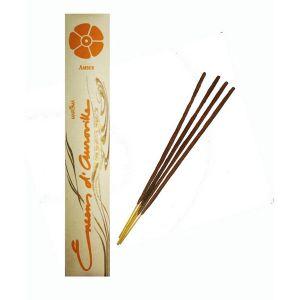 Encens D'auroville Amber 10 Incense Sticks