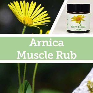 Baldwins Remedy Creator - Arnica Muscle Rub