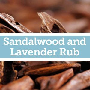 Baldwins Remedy Creator - Sandalwood and Lavender Rub