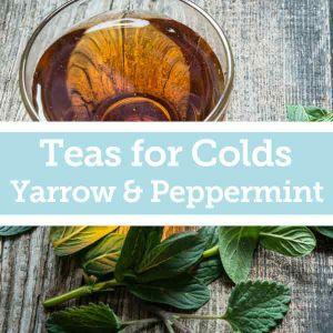 Baldwins Remedy Creator - Teas for Colds - Yarrow & Peppermint