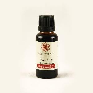 Baldwins Burdock  ( Arctium Lappa ) Herbal Fluid Extract
