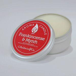 Baldwins Frankincense & Myrrh Aroma Candle 105g