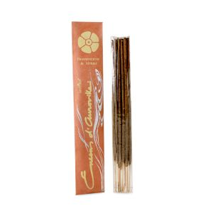 Encens D'auroville Frankincense & Myrrh 10 Incense Sticks