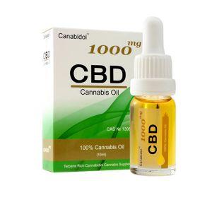 Canabidol CBD 100% Cannabis Oil 1000mg 10ml