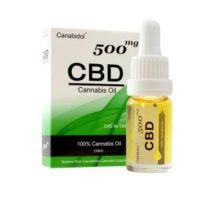 Canabidol CBD 100% Cannabis Oil 500mg 10ml
