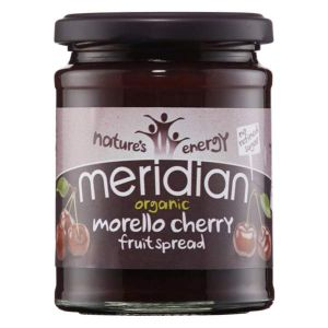 Meridian Organic Morello Cherry fruit spread 284g