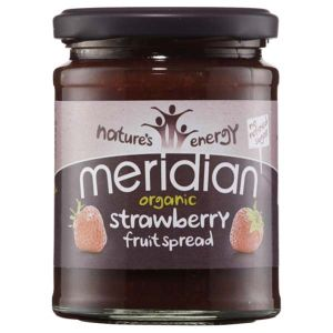 Meridian Organic Strawberry Fruit Spread No Refined Sugar 284g