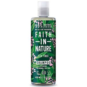 Faith In Nature Tea Tree Shampoo 400ml