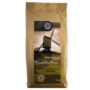 Infinity Foods Organic Brown Rice Flour