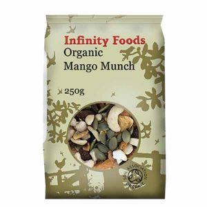Infinity Foods Organic Mango Munch 250g