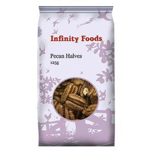Infinity Non-organic Pecans 125g