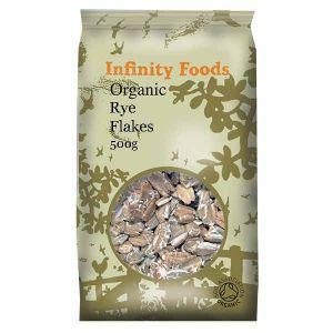 Infinity Foods Organic Rye Flakes