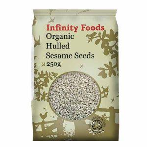 Infinity Foods Organic Sesame Seeds De-hulled