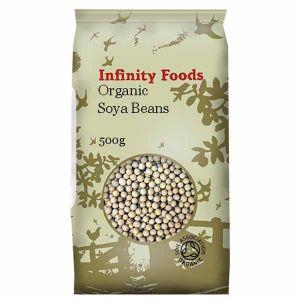 Infinity Foods Organic Soya Beans