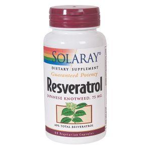 Solaray Resveratrol 30 Vegecaps