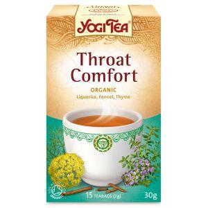 Yogi Throat Comfort Organic Tea 17 Bags