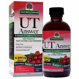 Natures Answer UT Answer D-Mannose & Cranberry Concentrate 120ml