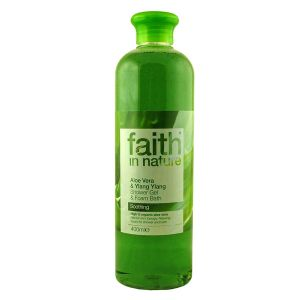 Faith In Nature Aloe Vera Shower Gel & Bath Foam 400ml