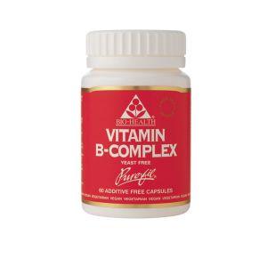 Bio-health Vitamin B Complex 60 Capsules Yeast Free