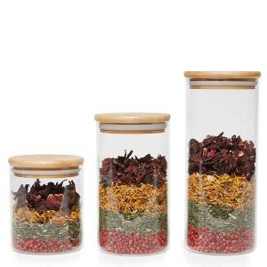 Baldwins Glass Storage Jar