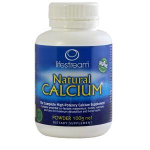Lifestream Natural Calcium 100g Powder