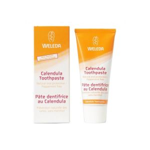 Weleda Calendula Toothpaste Peppermint Free 75ml