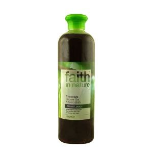 Faith In Nature Chocolate Shower Gel & Bath Foam 400ml