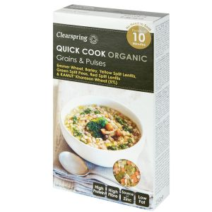 Clearspring Quick Cook Organic Grains & Pulses 250g