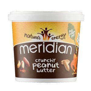 Meridian Crunchy Peanut Butter  No Salt 1kg