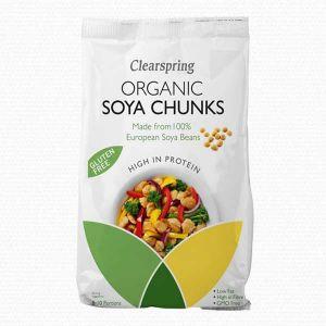 Clearspring organic Soya Chunks 200g