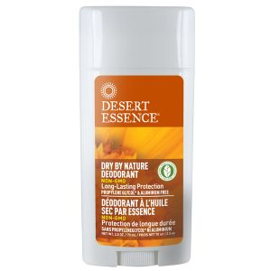 Desert Essence Dry By Nature Deodorant Stick With Chamomile, Calendula & Aloe