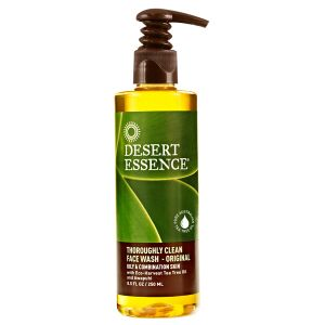 Desert Essence Thoroughly Clean Face Wash With Tea Tree & Awapuhi 250ml
