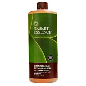 Desert Essence Thoroughly Clean Face Wash With Tea Tree & Awapuhi Refill 946ml