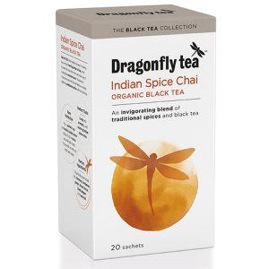 Dragonfly Tea Indian Spiced Chai Organic Black Tea 20 Sachets