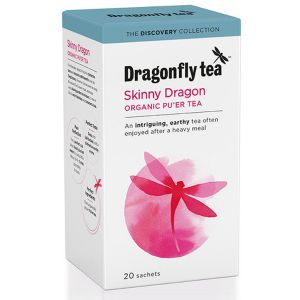 Dragonfly Tea Skinny Dragon Organic Pu'er Tea 20 Sachets