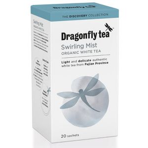 Dragonfly Tea Swirling Mist Organic White Tea 20 Sachets