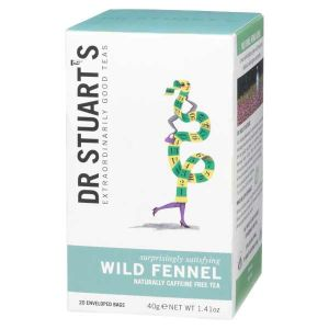 Dr Stuarts Wild Fennel Tea (15 Tea Bags)