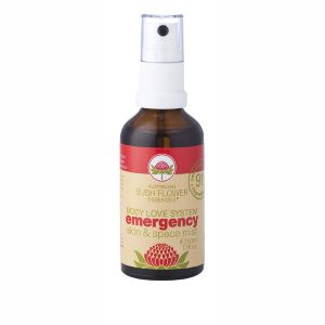 Australian Bush Flower Essences Organic Emergency Mist 50ml