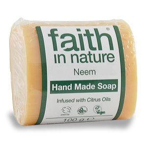 Faith In Nature Neem Soap 100g