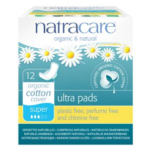Natracare Natural Ultra Pads X 12 (super With Wings)
