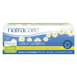 Natracare Organic All Cotton Digital Tampons X 20 (regular)