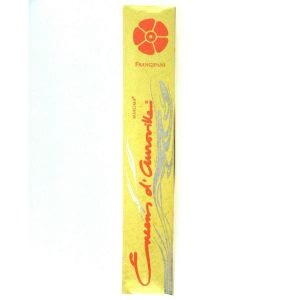 Encens D'auroville Frangipani 10 Incense Sticks