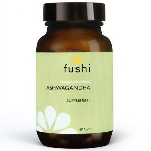 Fushi Organic Fresh Ground Ashwagandha 60 Capsules