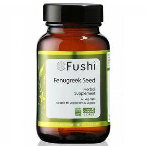 Fushi Organic Wholefood Fenugreek Seed 60 Capsules