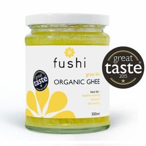 Fushi Organic Grass Fed Ghee 300ml