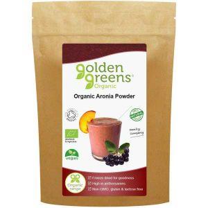Golden Greens Organic Aronia Powder 100g