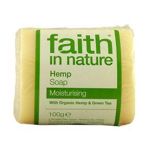 Faith In Nature Hemp & Green Tea Soap 100g