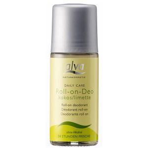 Alva Roll-on Crystal Deodorant - Coconut & Lime 50ml