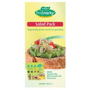 Biosnacky Salad Pack 160g